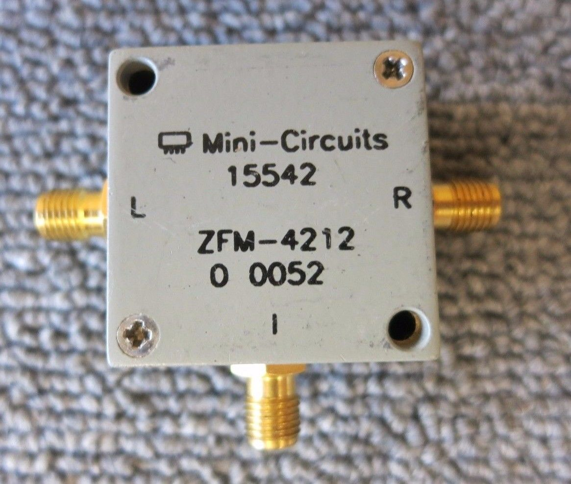 Mini Circuits 15542 ZFM-4212 RF Coxial Frequency Mixer